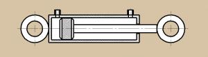 Гидравлические цилиндры двухстороннего действия
